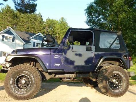 1998 Jeep 4 0 Engine Purchase Used 1998 Jeep Wrangler Sport 4 0 Litre Engine