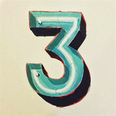 number 3 typography 17 best images about number typo on typography