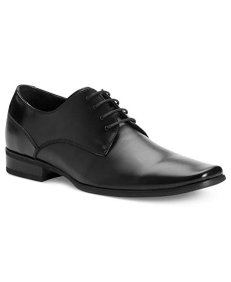Mens Black Dress Shoes by Calvin Klein S Brodie Oxford All S Shoes Macy S