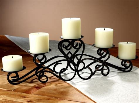 Candle Holders For Dining Room Table Creative And Stunning Candle Centerpieces For Tables