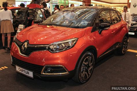 renault malaysia renault captur previewed in malaysia fr rm118k est
