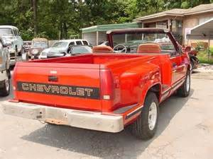 Chevrolet Convertible Truck Sell Used 1989 Chevrolet Truck Removable Hardtop