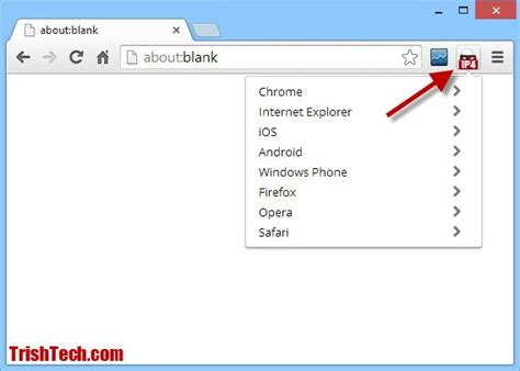 chrome user agent user agent switcher for google chrome spoofs user agent