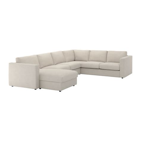 ikea sectionals vimle sectional 5 seat corner with chaise gunnared