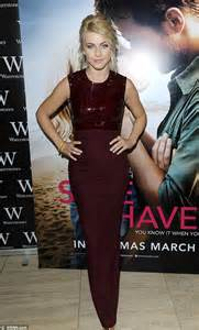 safe haven red dress safe haven red dress julianne hough steals the show in