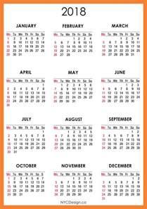 Calendar 2018 Printable Template 2018 Calendar Printable Weekly Calendar Template