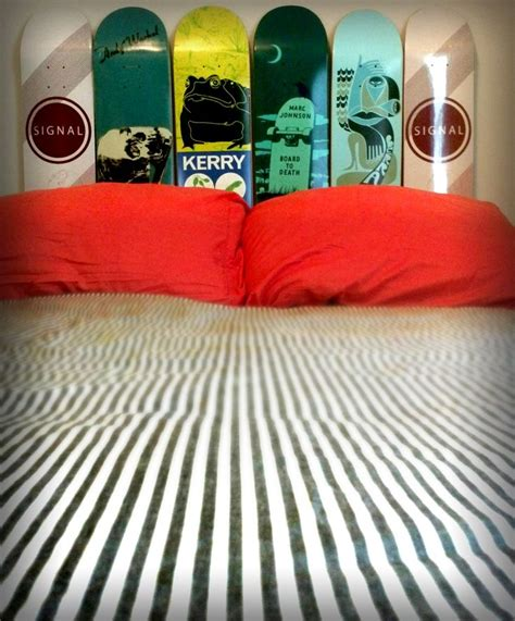25 best ideas about skateboard headboard on pinterest