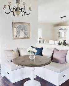 white breakfast nook 29 breakfast corner nook design ideas digsdigs