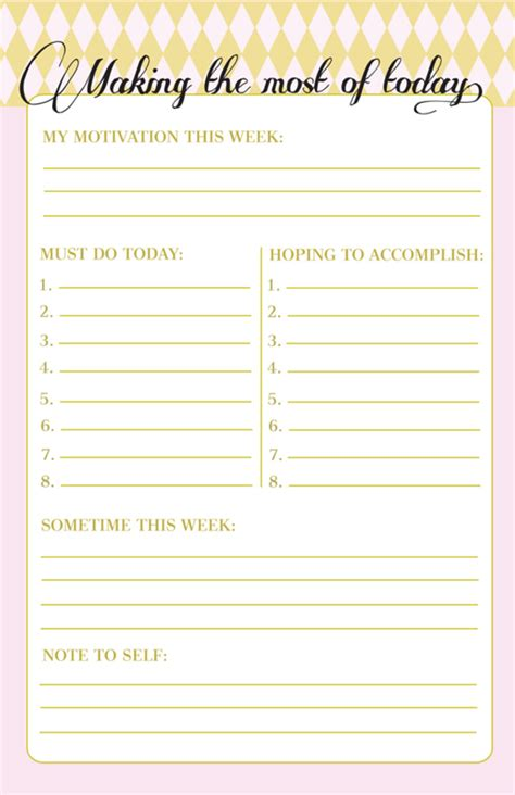 printable to do list pretty 10 to do lists as pretty as they are useful