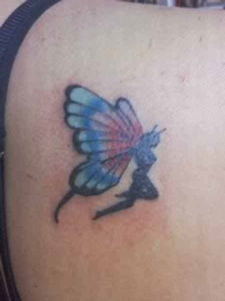 tattoo butterfly fairy flying fairy butterfly tattoo on back shoulder