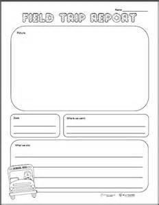 field trip report template field trip report free printable squarehead teachers