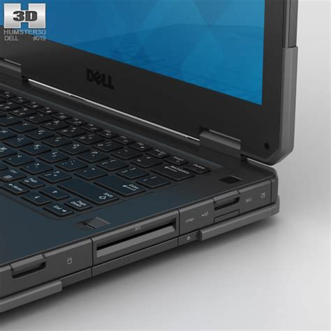 Dell Latitude 14 Rugged by Dell Latitude 14 Rugged 3d Model Humster3d
