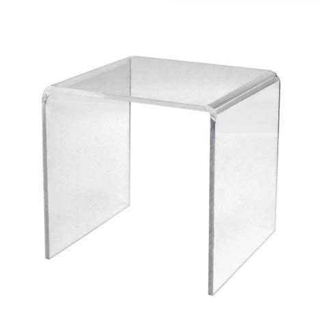 acrylic stand large clear display stand 300mm 5mm acrylic shopfitting warehouse