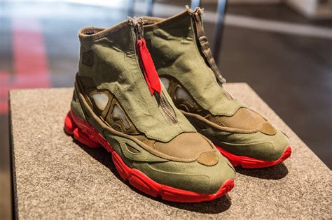 raf simons shoes farfetch the shoe surgeon x farfetch raf simons ozweego sneakers pause s fashion