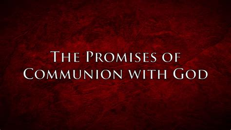 the promises of god discovering the one who keeps his word books the promises of communion with god henry matarrita one