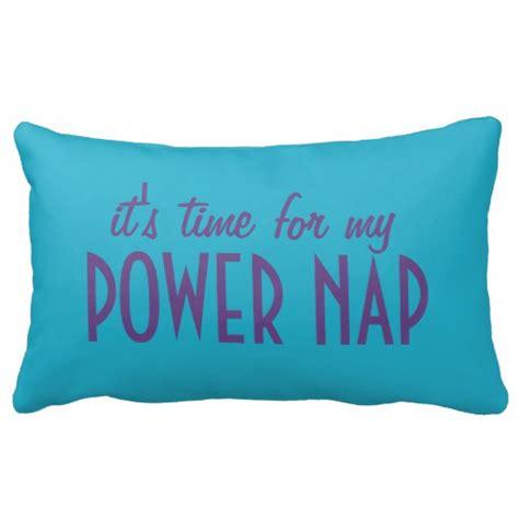 Powernap Pillow by Power Nap Custom Color Name Throw Pillow Zazzle