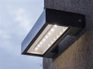applique ext 233 rieure solaire en aluminium longueur 30cm 300