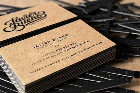 desain kartu nama eksklusif cara desain 10 contoh desain kartu nama keren oleh