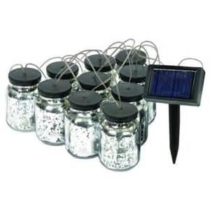 solar string lights home depot malibu black solar jar string light 8517 5503 10