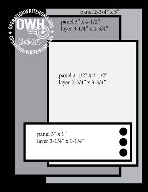 memorial day card templates 622 best images about card sketches measurements tips