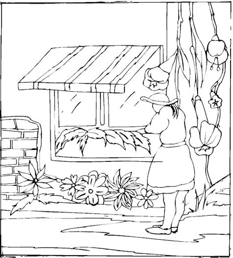 spring house coloring pages kidprintables com spring coloring pages