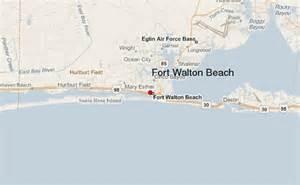 map of florida fort walton fort walton location guide