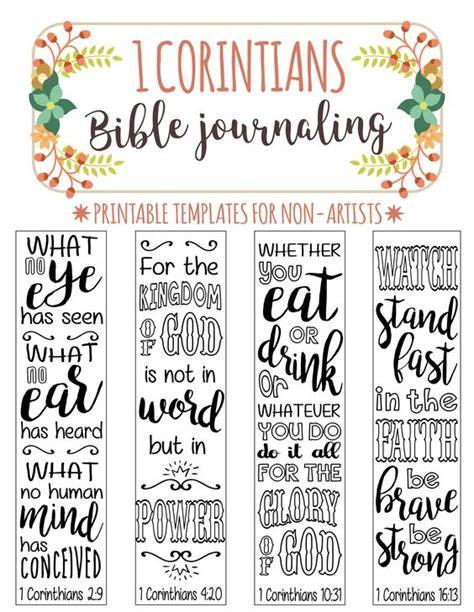 bible journaling templates 1 corinthians 4 bible journaling printable templates