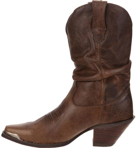 durango s crush brown sultry slouch boot