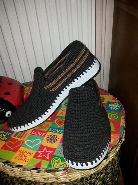 zapatos de varon tejidos para hombres zapato caballero crochet pinterest para