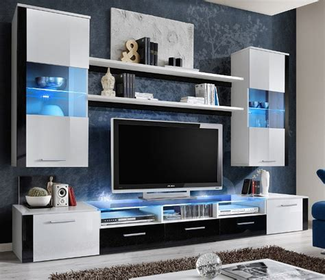 modern wall units uk lumia 4 white and black high gloss tv wall unit modern