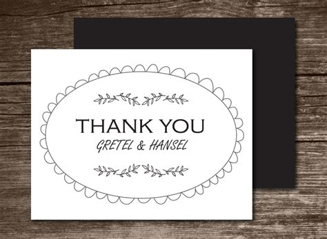 best thank you card template the best thank you cards template designs