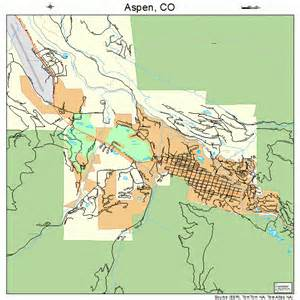 where is aspen colorado on the map aspen colorado map 0803620