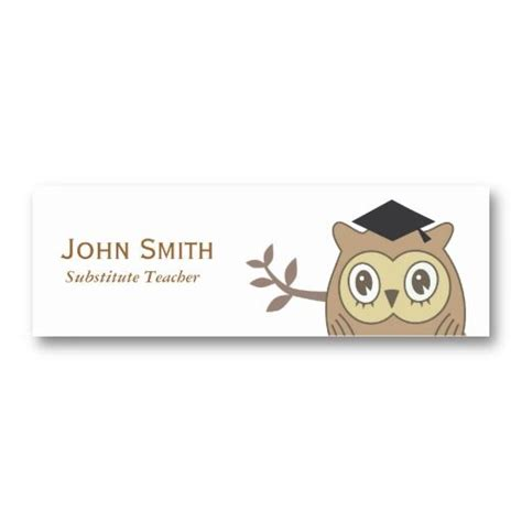 girly teacher and instructor business cards girly business cards