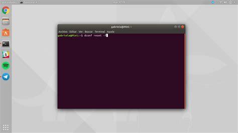 ubuntu reset unity how to reset the ubuntu desktop to its original state with