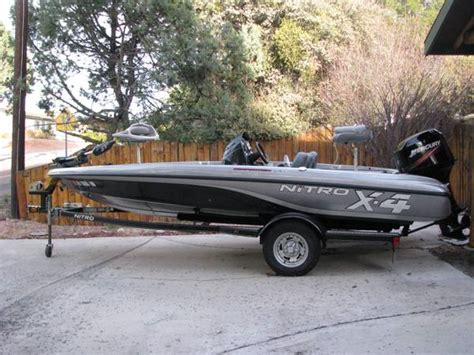 bass boat nitro x4 nitro x4 bass boat for sale