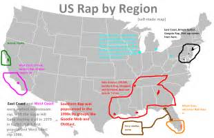 us cultural regions rap and hip hop in the us s lectern
