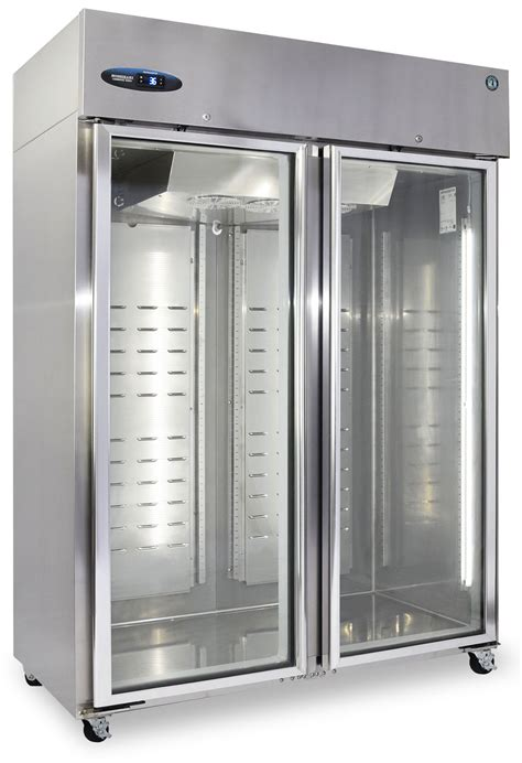 Glass Door Section Cr2s Fge Refrigerator Two Section Upright Glass Door Hoshizaki America Inc