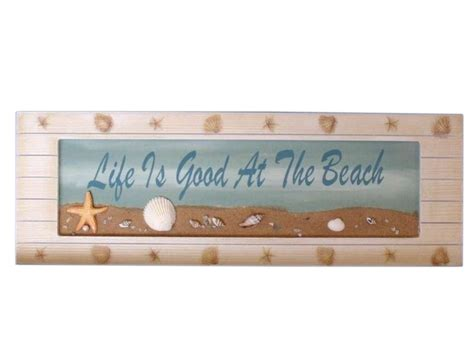 beach signs home decor wholesale wooden life is good sign 21 quot model ship