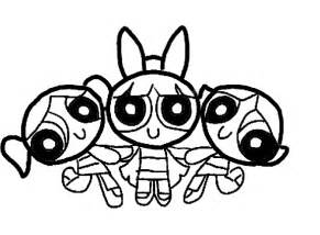 powerpuff coloring pages power puff coloring pages barriee