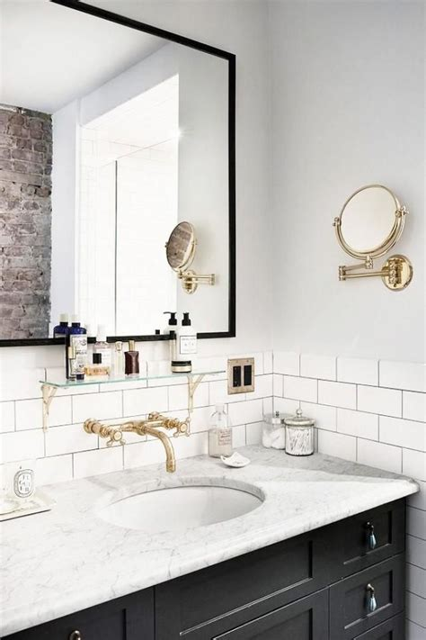 bathroom tiles brooklyn 1000 ideas about black bathroom vanities on pinterest