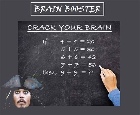 How To Be A Genius Your Brain And How To It can you solve this logic math puzzle brain picture say 1000 words