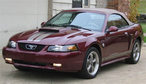 timeline 2004 mustang 40th anniversary models the