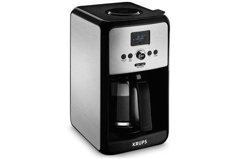 krups coffee maker krups savoy stainless steel coffee maker 12 cup cutlery and more
