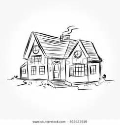 Modern Small Houses by House Drawing Stock Images Royalty Free Images Amp Vectors