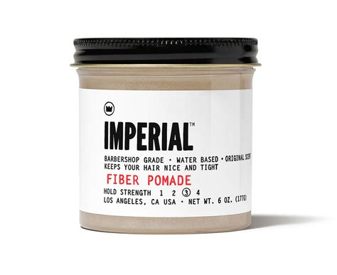 Fiber Pomade imperial products for harbor barber huntington