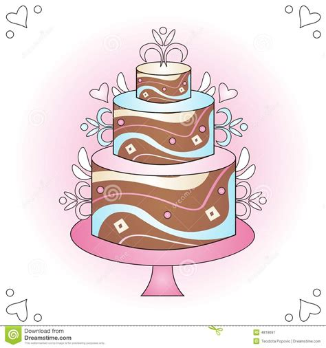 Wedding Food Clipart by Wedding Cake Clipart Wedding Food Pencil And In Color