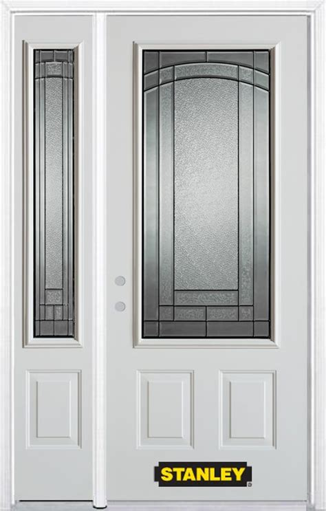 48 Inch Doors by Stanley Doors 48 Inch X 82 Inch Chatham 3 4 Lite 2 Panel