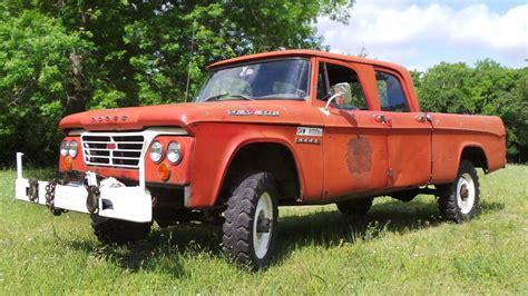 Red Barn tough crew cab 1963 dodge power wagon