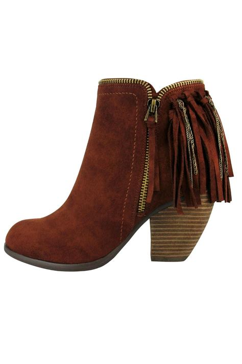 fringe booties not flippin fringe booties from pennsylvania by