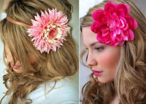 flower accessories silk flower hair accessories lushlee